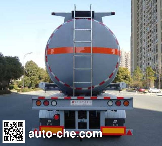 Hongzhou HZZ9400GYS liquid food transport tank trailer