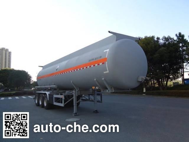 宏宙牌HZZ9401GFW腐蚀性物品罐式运输半挂车