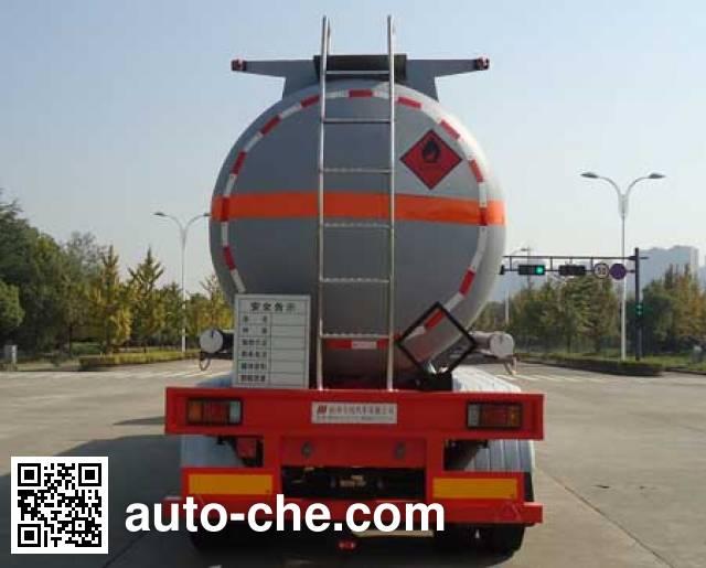 Hongzhou HZZ9405GRY flammable liquid tank trailer
