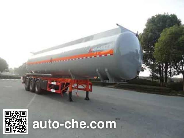 Hongzhou HZZ9406GRYA flammable liquid tank trailer