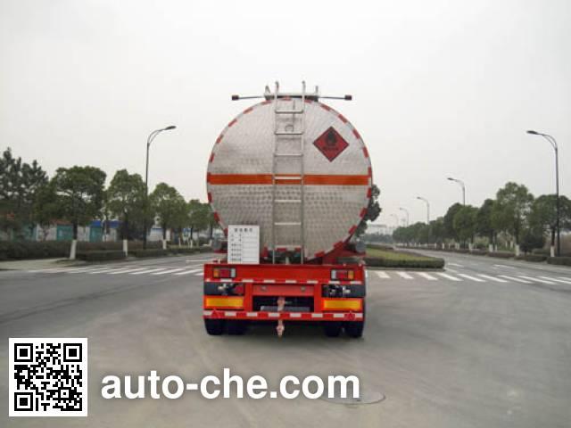 宏宙牌HZZ9408GHY化工液体运输半挂车