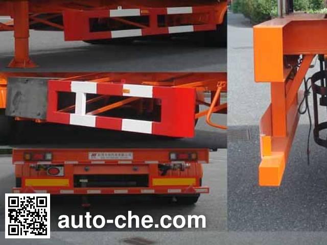 Hongzhou HZZ9400GSY edible oil transport tank trailer