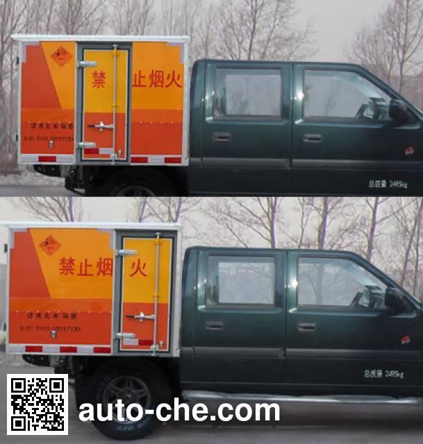 Jiancheng JC5021XQYJX4 explosives transport truck