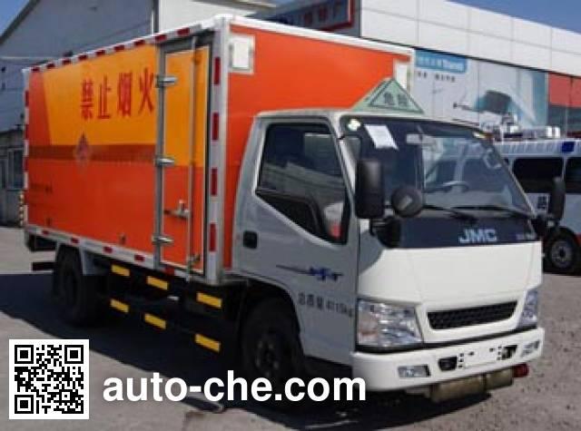 Jiancheng JC5040XQYJX4 explosives transport truck