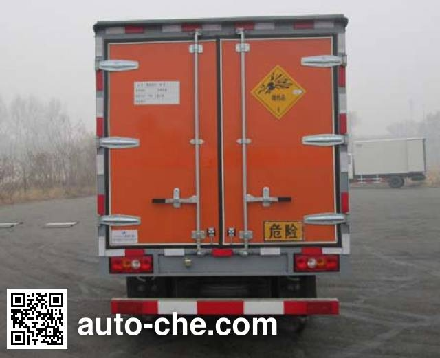 Jiancheng JC5041XQYJXG4 explosives transport truck