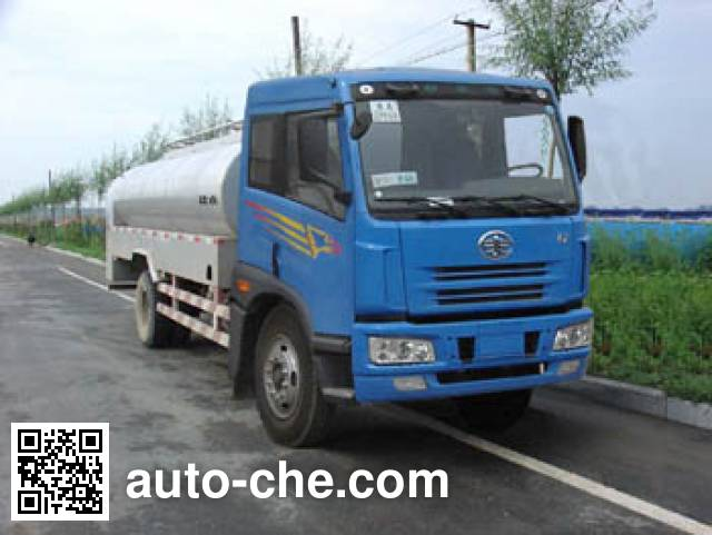 建成牌JC5160GYSCA液态食品运输车