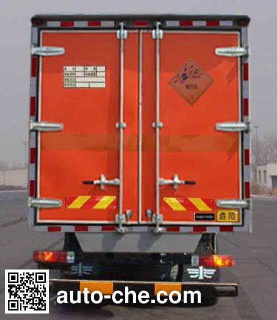 Jiancheng JC5160XQYCA4 explosives transport truck