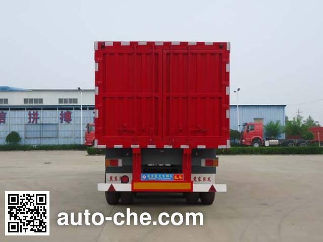 Jidong Julong JD9405XXY box body van trailer