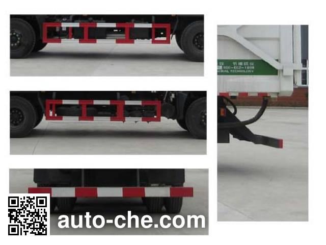 Jiudingfeng JDA5250ZDJEQ5 docking garbage compactor truck