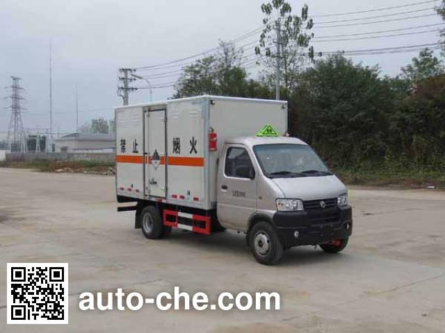 Jiangte JDF5030XZWE5 dangerous goods transport van truck