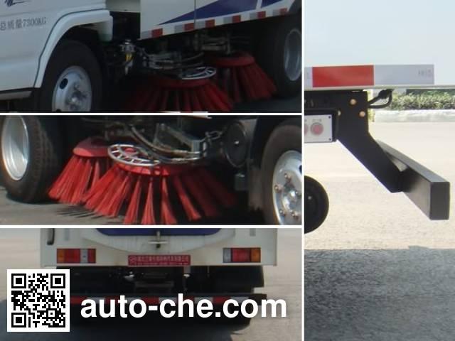 Jiangte JDF5072TSLQ4 street sweeper truck