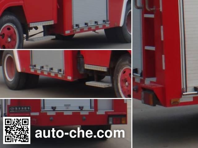 江特牌JDF5102GXFPM30泡沫消防车