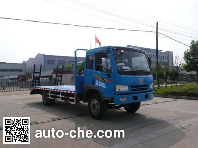 江特牌JDF5160TPBC平板运输车