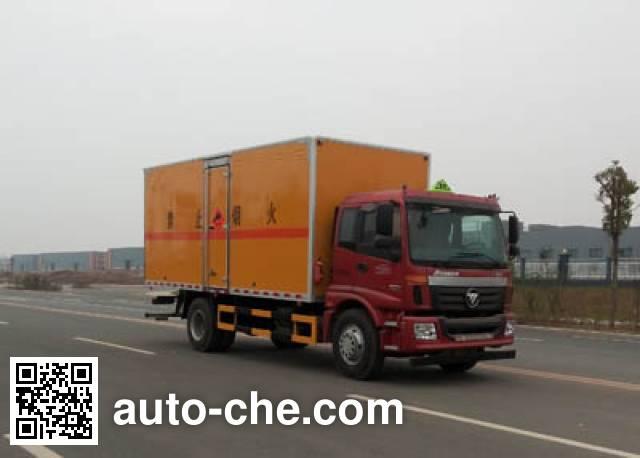 Jiangte JDF5162XQYBJ4 explosives transport truck