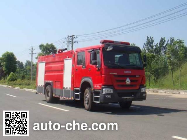 江特牌JDF5204GXFPM80泡沫消防车
