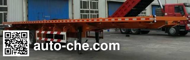 Jidong Julong JDL9403ZZXP flatbed dump trailer