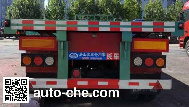 Jidong Julong JDL9403TPB flatbed trailer