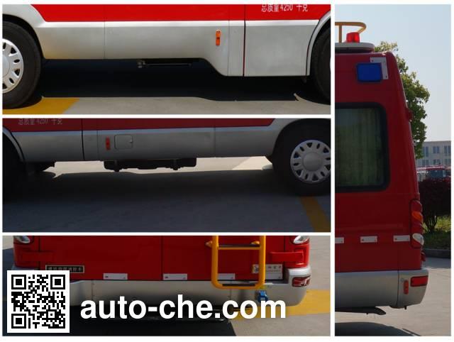 Haidun JDX5040XXFTZ1000 communication fire command vehicle