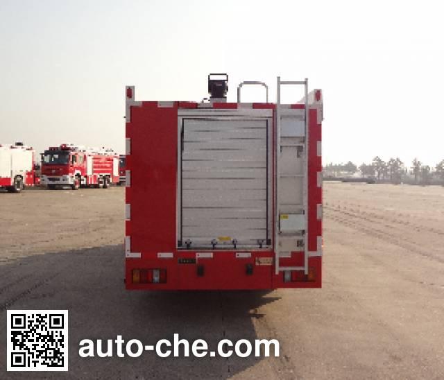 Jinshengdun JDX5070GXFSG20/F fire tank truck