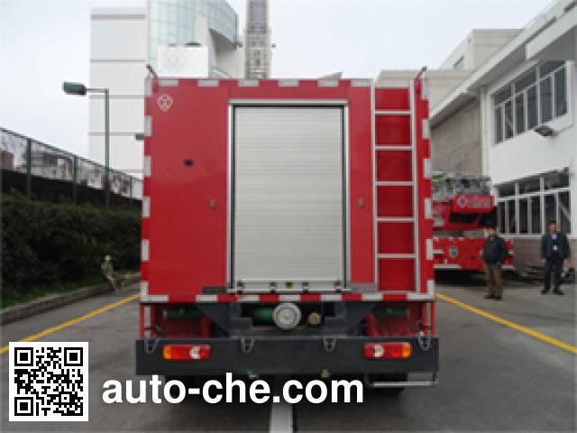 金盛盾牌JDX5080GXFPM30/Y泡沫消防车