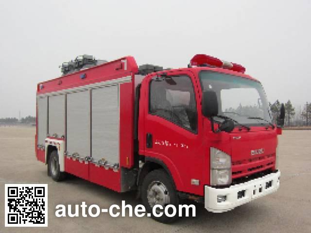 Jinshengdun JDX5080TXFZM50 lighting fire truck