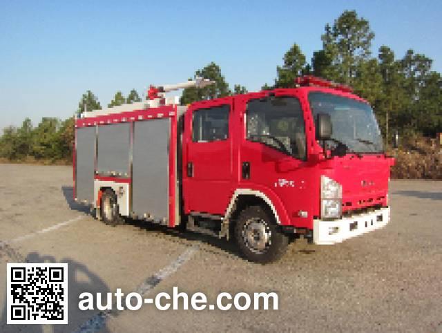 金盛盾牌JDX5100GXFPM35/B泡沫消防车