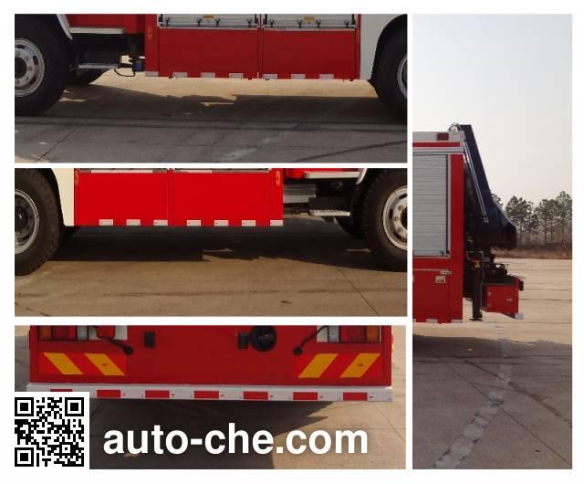 金盛盾牌JDX5130TXFJY98抢险救援消防车