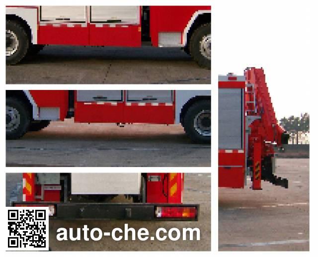 Haidun JDX5130TXFJY98W пожарный аварийно-спасательный автомобиль