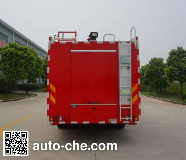 Jinshengdun JDX5150GXFSG50/W fire tank truck