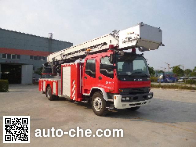 海盾牌JDX5150JXFYT30云梯消防车