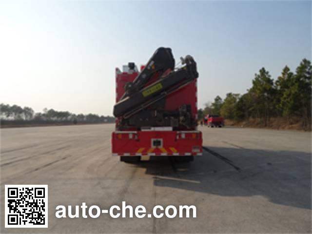 金盛盾牌JDX5150TXFJY100/B抢险救援消防车