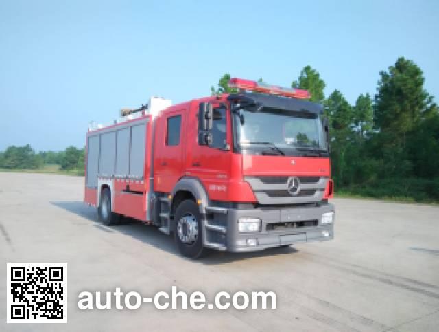 金盛盾牌JDX5170GXFPM60/B泡沫消防车