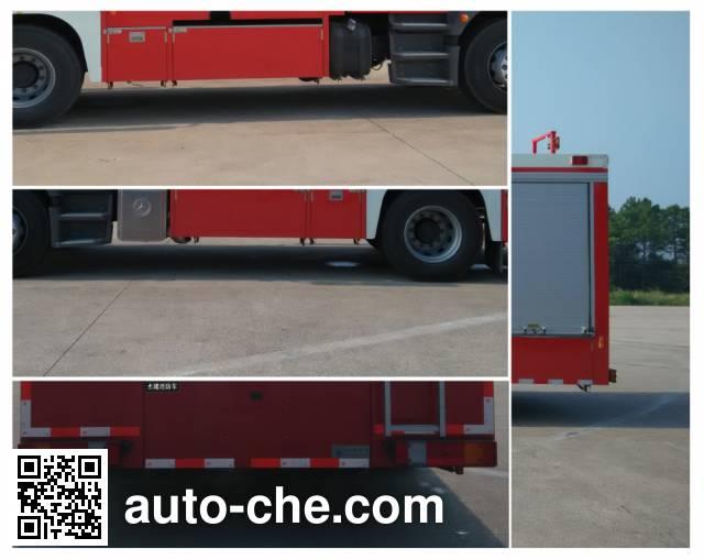 Jinshengdun JDX5170GXFSG60/B fire tank truck