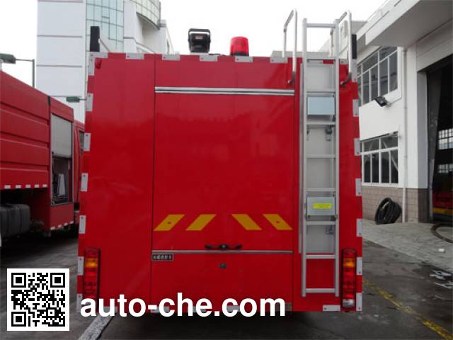 Jinshengdun JDX5200GXFSG80/H fire tank truck