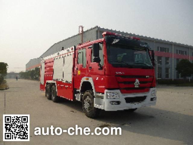Jinshengdun JDX5270TXFGP100/H dry powder and foam combined fire engine