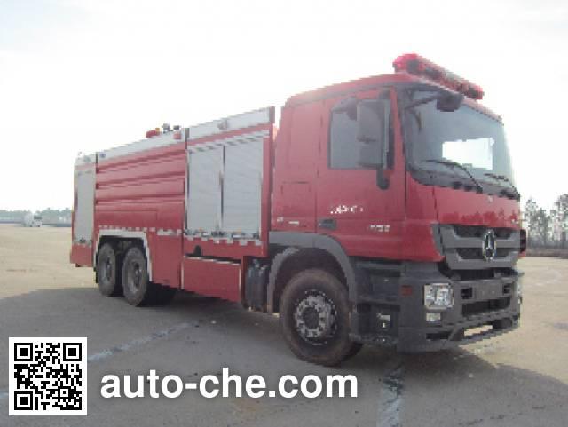 金盛盾牌JDX5280GXFPM120/B泡沫消防车