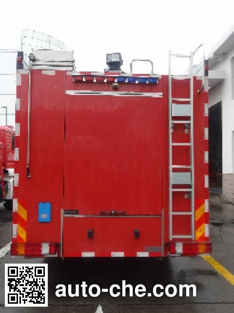 Jinshengdun JDX5280GXFPM120/B foam fire engine
