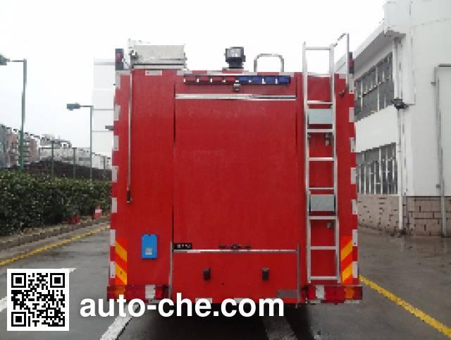 Jinshengdun JDX5280GXFSG120/B fire tank truck
