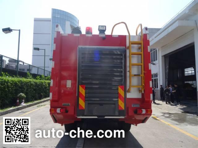 Jinshengdun JDX5290GXFJX100/B airport fire engine