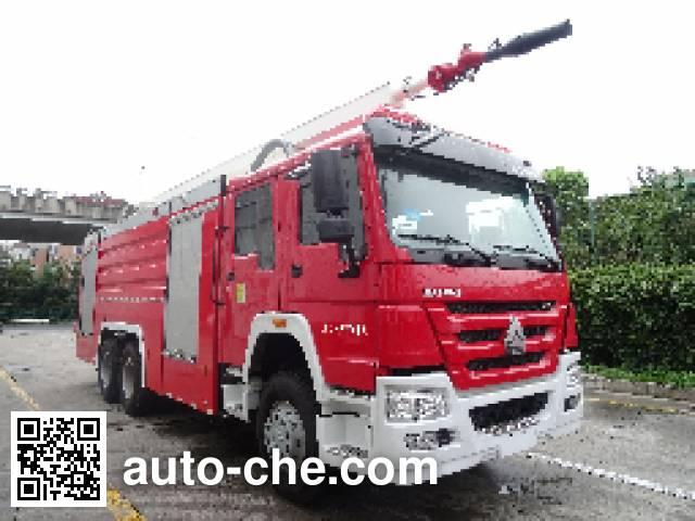 Jinshengdun JDX5310JXFJP20 high lift pump fire engine