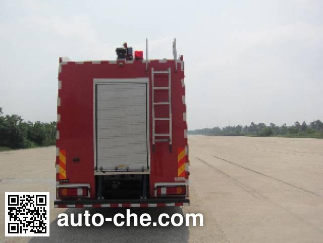 Jinshengdun JDX5390GXFSG180 fire tank truck