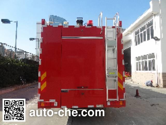 Jinshengdun JDX5420GXFPM240/H foam fire engine