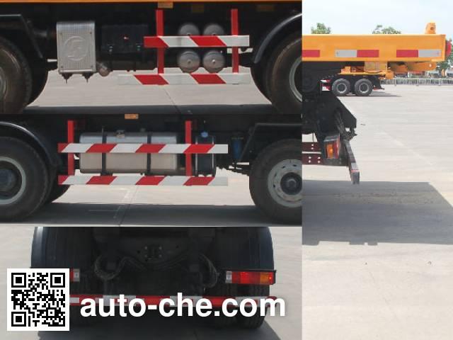 Juntong JF3310PSX6M flatbed dump truck