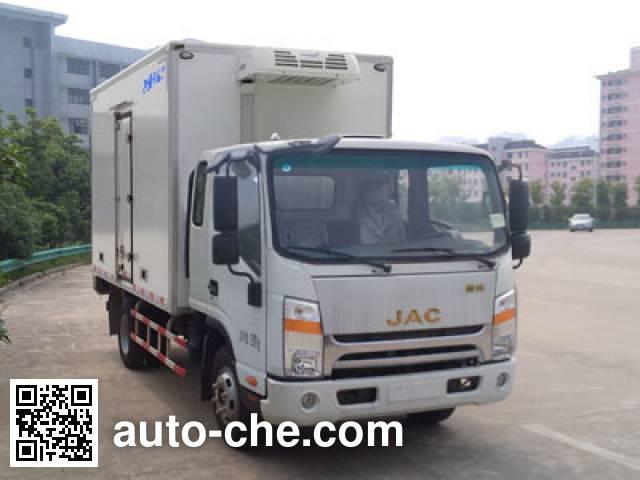 Juntong JF5040XLCHFC refrigerated truck