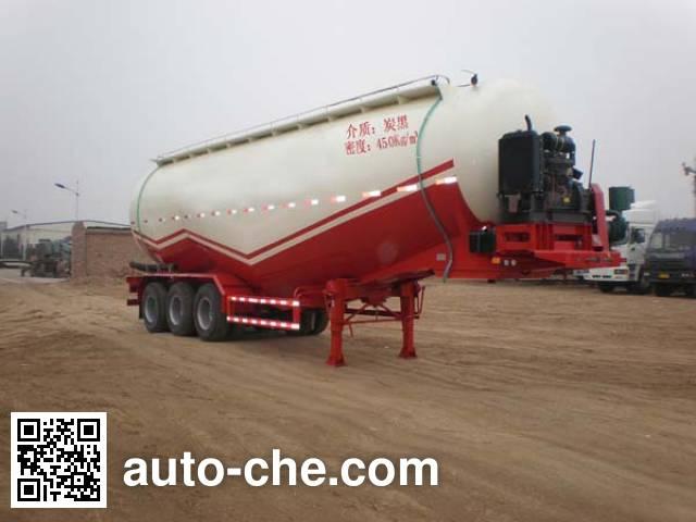 骏通牌JF9340GFL低密度粉粒物料运输半挂车