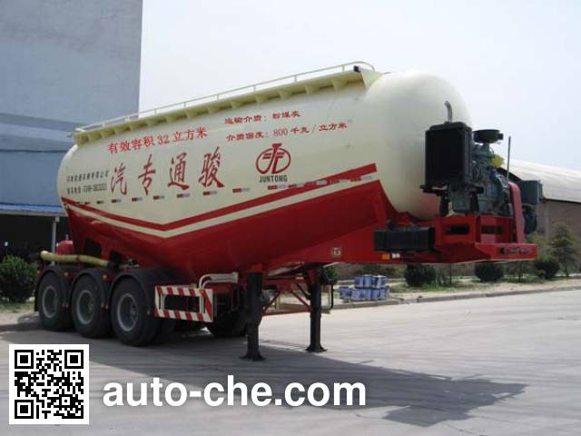 Juntong JF9341GFL medium density bulk powder transport trailer