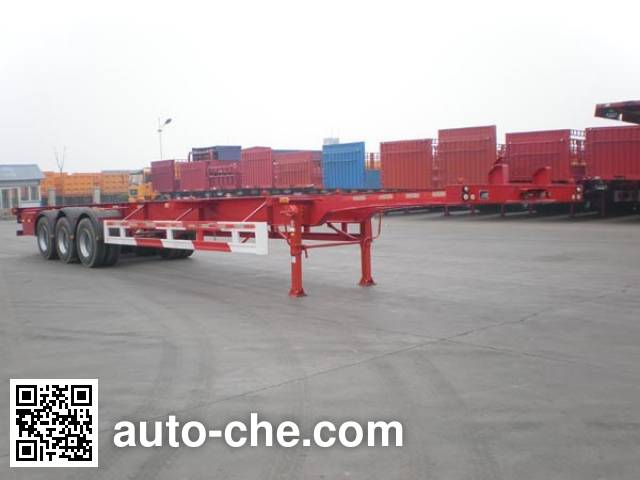 Juntong JF9390TJZG container transport trailer
