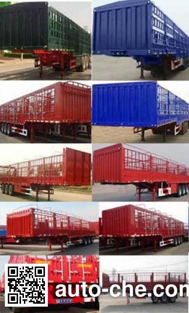 Juntong JF9406CCY stake trailer