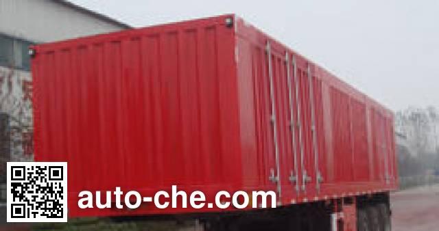 Juntong JF9401XXY box body van trailer