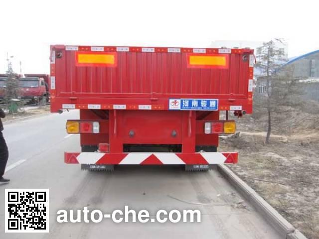 Juntong JF9402 dropside trailer